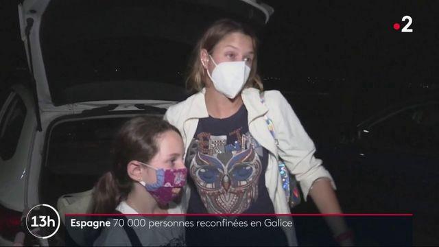 Espagne : 70 000 personnes reconfinées en Galice