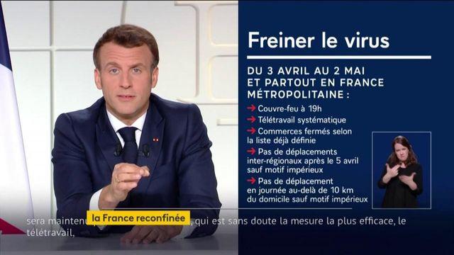 Allocution d'Emmanuel Macron : le point sur les nouvelles mesures annoncées