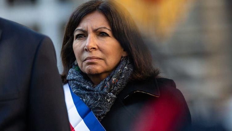 La maire de Paris Anne Hidalgo à Paris, le 21 mars 2019. (MAXPPP)
