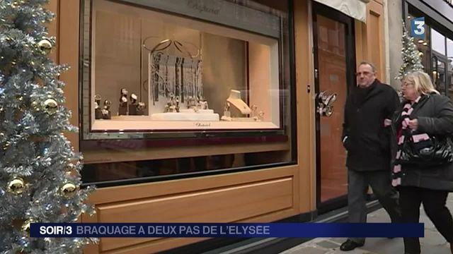 État d'urgence : une bijouterie braquée en plein Paris