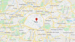 Rue Vieille du Temple (Paris). (GOOGLE MAPS)