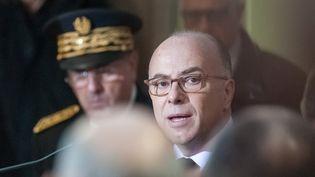 Le ministre de l'Intérieur, Bernard Cazeneuve, prend la parole à l'Institut français de civilisation musulmane, le 24 novembre 2016. (CITIZENSIDE / FRANCK CHAPOLARD / AFP)