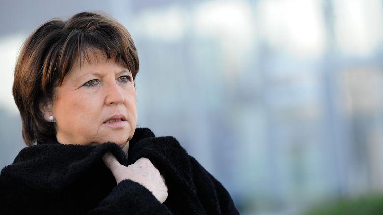Martine Aubry, le 4 décembre 2012 à Lens (Pas-de-Calais). (CHRISTOPHE GUIBBAUD / SIPA)