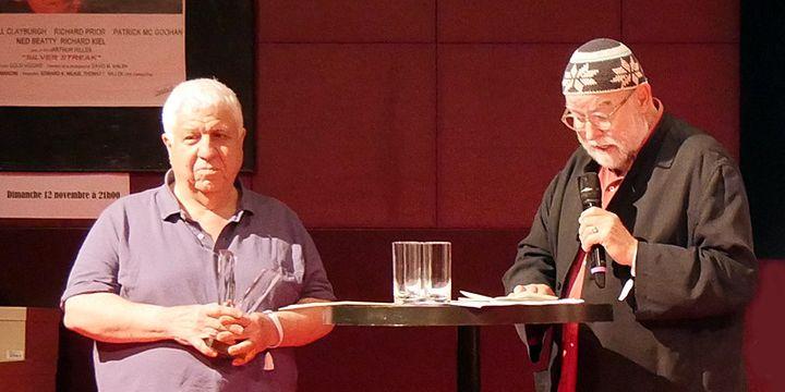 Guy Le Querrec et Henri Texier  (Annie Yanbékian / Culturebox)