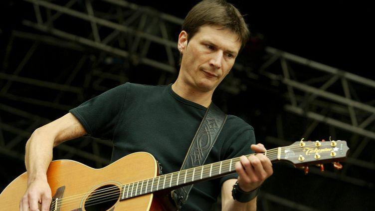 Dominic Sonic en 2004 au festival Vieilles Charrues. (PHOTOPQR/OUEST FRANCE)
