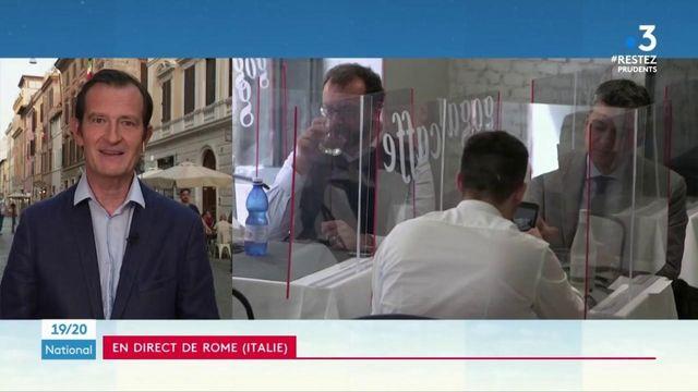 Italie : un quart des restaurants rouvrent leurs portes