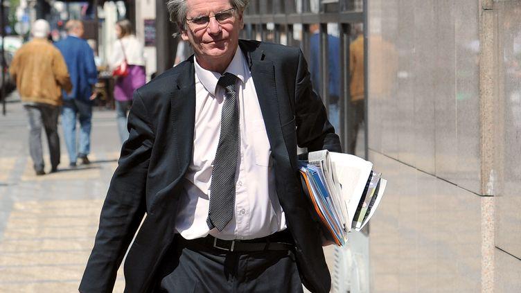 Patrick Braouzec, ancien député-maire de Saint-Denis (Seine-Saint-Denis), le 5 mai 2011, à Paris. (FRANCK FIFE / AFP)
