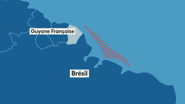 Le récif corallien de l'Amazone s'étend de la Guyane à l'Etat brésilien de Maranhao. (DIEGO MIRANDA / FRANCEINFO)