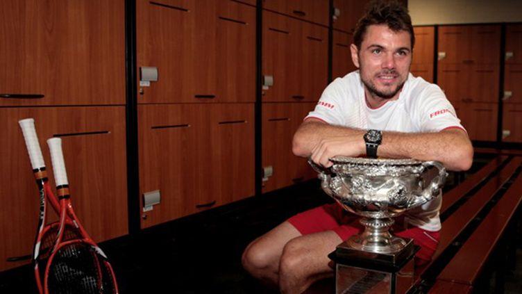 Stanislas Wawrinka a gagné dimanche le premier titre de Grand Chelem de sa carrière (FIONA HAMILTON / TENNIS AUSTRALIA)