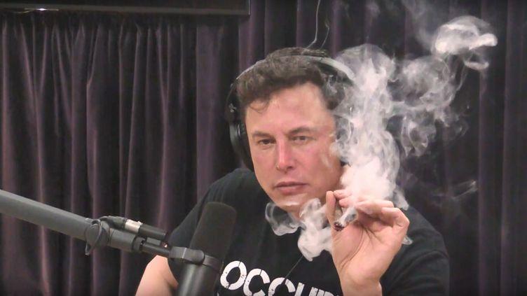 Elon Musk a réalisé une interiew de plus de deux heures avec l'animateur de podcast Joe Ragen, le 6 septembre 2018 en Californie. (CAPTURE D'ÉCRAN YOUTUBE)