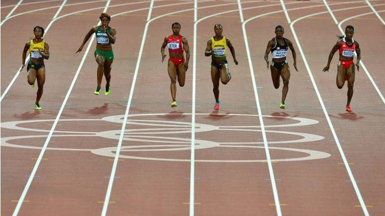 Les filles du 100m