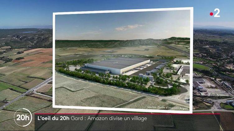 Entrepôt Amazon dans le Gard: des élus visés par une plainte pour prise illégale d'intérêts (FRANCE 2)