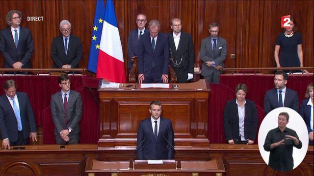 L'intégralité de l'intervention de Macron au Congrès à Versailles