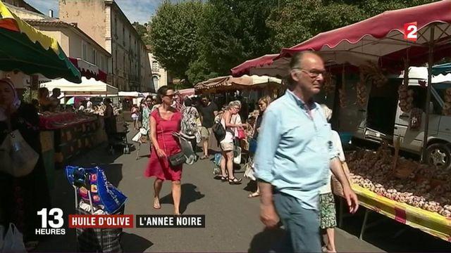Huile d'olive: l'année noire en France