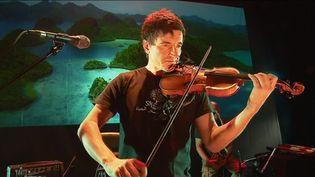 Yann-Gaël Poncet, violoniste, chanteur, compositeur et amoureux de la nature. (Y. Glo  / France Télévisions)