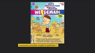 """La couverture de """"We Demain 100% ado"""" (FRANCEINFO)"""
