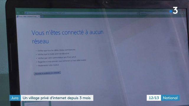 Jura : un village sans internet depuis trois mois