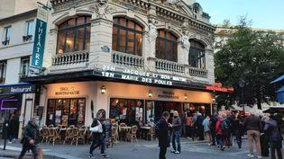 Le Théâtre Montparnasse à Paris. (ANNE CHEPEAU / RADIO FRANCE)
