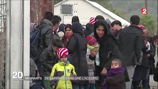 Migrants : entrée en vigueur de l'accord entre l'Europe et la Turquie