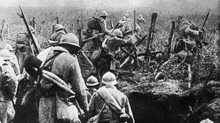 La bataille de Verdun. Photo de la Première Guerre mondiale prise en 1916. (- / AFP)