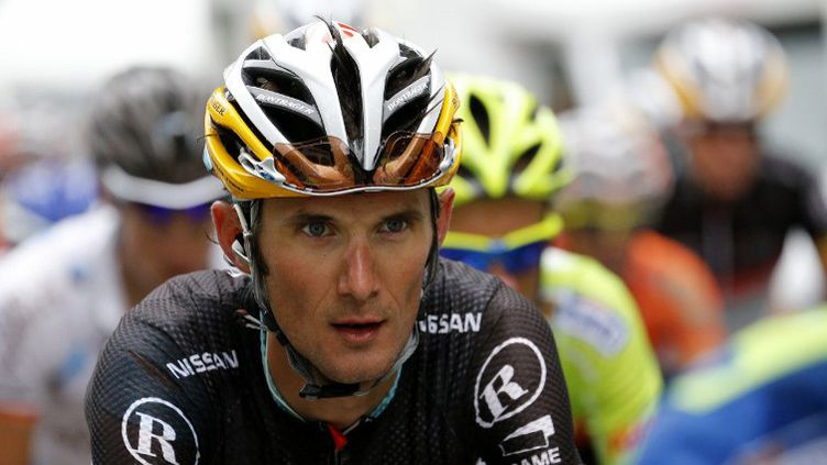 Fränk Schleck (JOEL SAGET / AFP)