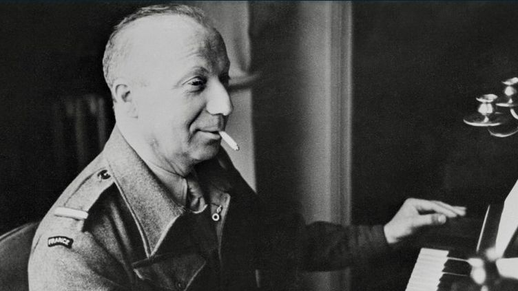 Une facette moins connue de Pierre Dac, celle du résistant. L'humoriste fut chroniqueur pour Radio Londres dès 1943.  (AFP)