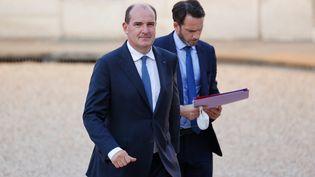 Le Premier ministre Jean Castex, le 13 septembre 2021 à Paris. (THOMAS SAMSON / AFP)