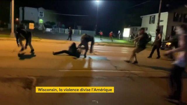 WIsconsin, la violence divise