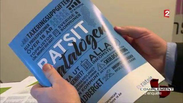 Salaires, impôts, impayés... l'annuaire suédois qui révèle tout