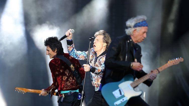 Les Rolling Stones n'ont plus sorti d'album original depuis 2005, même s'ils continuent à tourner partout dans le monde. (NIGEL RODDIS / EPA)