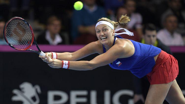 Petra Kvitova manquera l'Open d'Australie et Roland Garros (PATRICK HERTZOG / AFP)