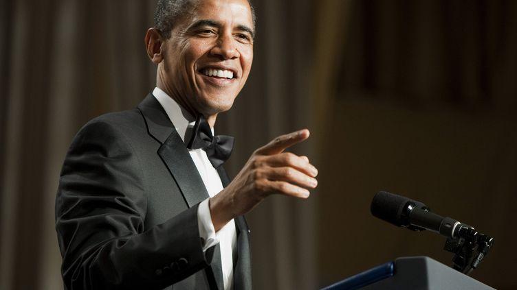 Le président américain Barack Obama lors d'un gala à Washington (Etats-Unis), le 29 octobre 2011. (JOSHUA ROBERTS / REUTERS)