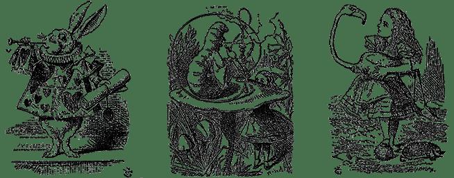 """Les éditions """"Les saints-pères"""" publient le manuscrit original et le prequel des aventures d'Alice  (Editions les Saints-Pères)"""