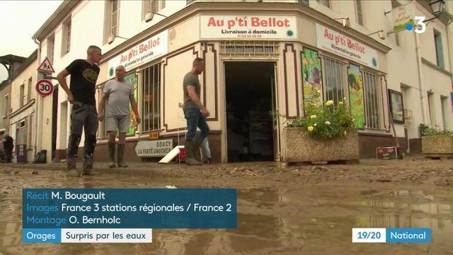Orages : les habitants de Bellot surpris par les eaux