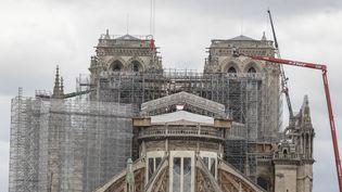 La cathédrale Notre-Dame de Paris le 8 juin 2020. (ANTOINE WDO / HANS LUCAS / AFP)