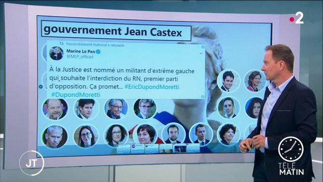 La composition du gouvernement de Jean Castex fait réagir