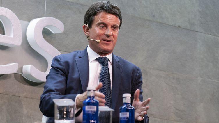 L'ex-Premier ministre Manuel Valls le 13 novembre 2018 à Barcelone. (OSCAR GONZALEZ / NURPHOTO / AFP)