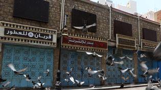 """Le """"vieux Jeddah"""", la partie historique de la ville, est inscrit au patrimoine de l'humanité de l'Unesco.  (STR / AFP)"""
