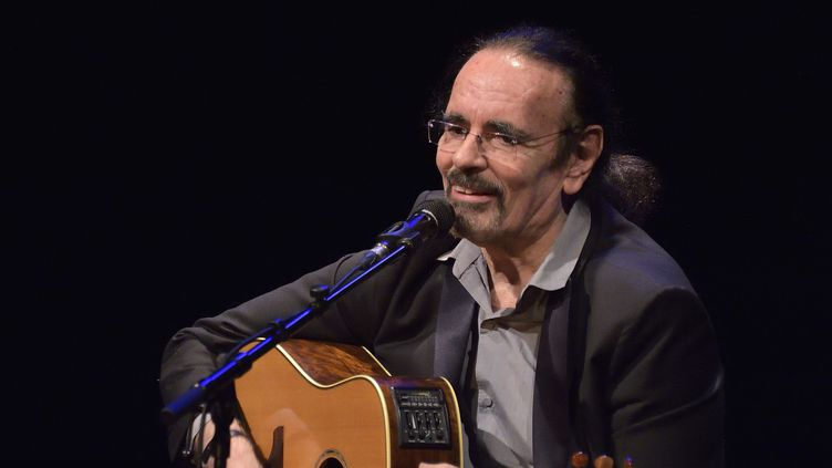 Nicolas Peyrac en concert à Paris au théâtre des Mathurins  (SADAKA EDMOND/SIPA)