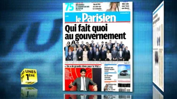 La revue de presse du 23 mai 2012. (FTVI / LA 1ERE)