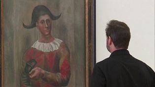 """""""Arlequin au loup"""" de Picasso, un des chefs-d'oeuvre présentés à la Fondation Beyeler (N. Meyer / France 3 Alsace)"""