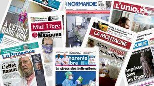Qu'elle soit en ligne ou en édition papier, elle est un acteur essentiel au cœur de la crise : la presse quotidienne régionale. Tous les territoires ont besoin d'être informés de la situation, et cela de très près. (France 2)