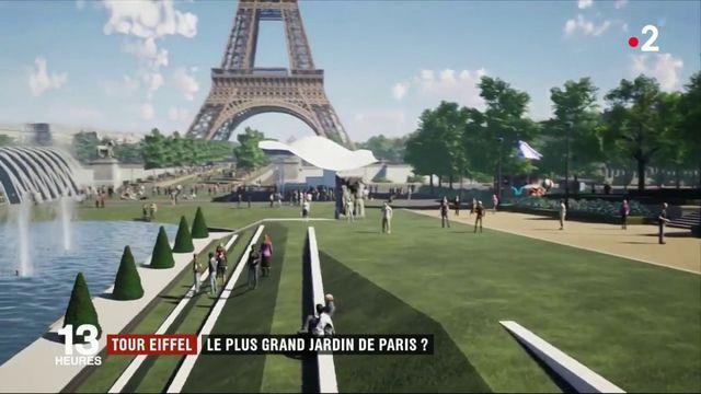 Tour Eiffel : le plus grand jardin de Paris ?