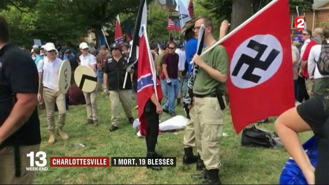 Charlottesville : 1 mort et 19 blessés en marge d'un rassemblement d'extrême droite