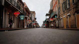 Sept ans après Katrina, la Nouvelle-Orléans s'est vidée de peur de revivre un drame similaire. (CHRIS GRAYTHEN / GETTY IMAGES / AFP)