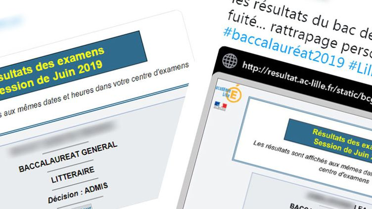 Plusieurs candidats ont affirmé avoir eu accès à leurs résultats du bac 2019 dès jeudi soir, avant l'heure officielle vendredi matin. (NOEMIE BONNIN / RADIO FRANCE)