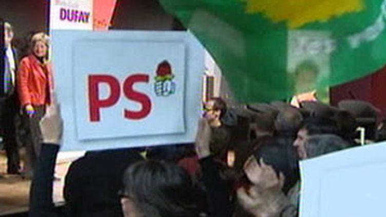 Le PS s'allie aux verts pour le second tour des Régionales, le 16 mars 2010 (France 2)