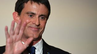 Manuel Valls, le 29 janvier 2017 à Paris. (ERIC FEFERBERG / AFP)