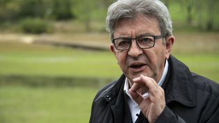Jean-Luc Mélenchon, le 2 octobre 2020. (SEBASTIEN BOZON / AFP)