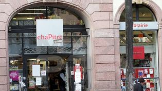 Librairie Chapitre à Colmar (Haut-Rhin)  (PHOTOPQR/L'ALSACE/Thierry Gachon)